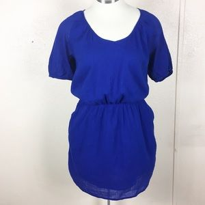 Gap Cotton Voyage Dress with Pockets Sz M